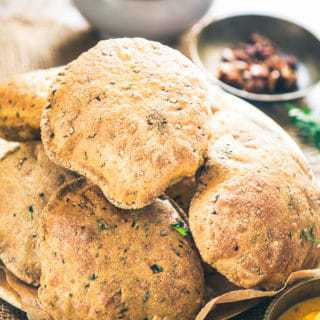 Bajra Methi Poori Recipe, Bajra Poori Recipe