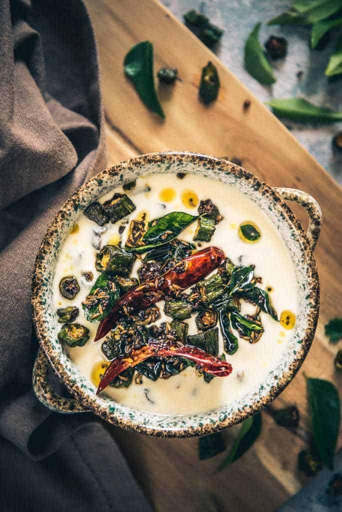 Bhindi Raita Recipe, How to make Bhindi Raita