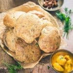 Bajra Methi Poori turns out to be a superb combination of bajra flour as well as fresh fenugreek leaves and it doesn't soak ample amount of oil as well. Here s a simple recipe to make it.