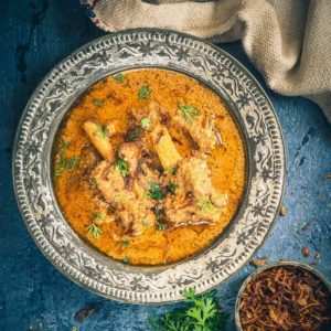This Old Delhi Style Mughlai Mutton Stew recipe is a royal, delicious assemblage of fine flavours brewed with mutton and spices. Learn to make it at home using this recipe.