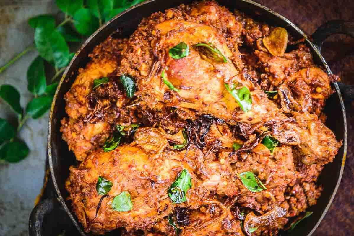Mangalorean Chicken Sukka Recipe Step By Step Whiskaffair