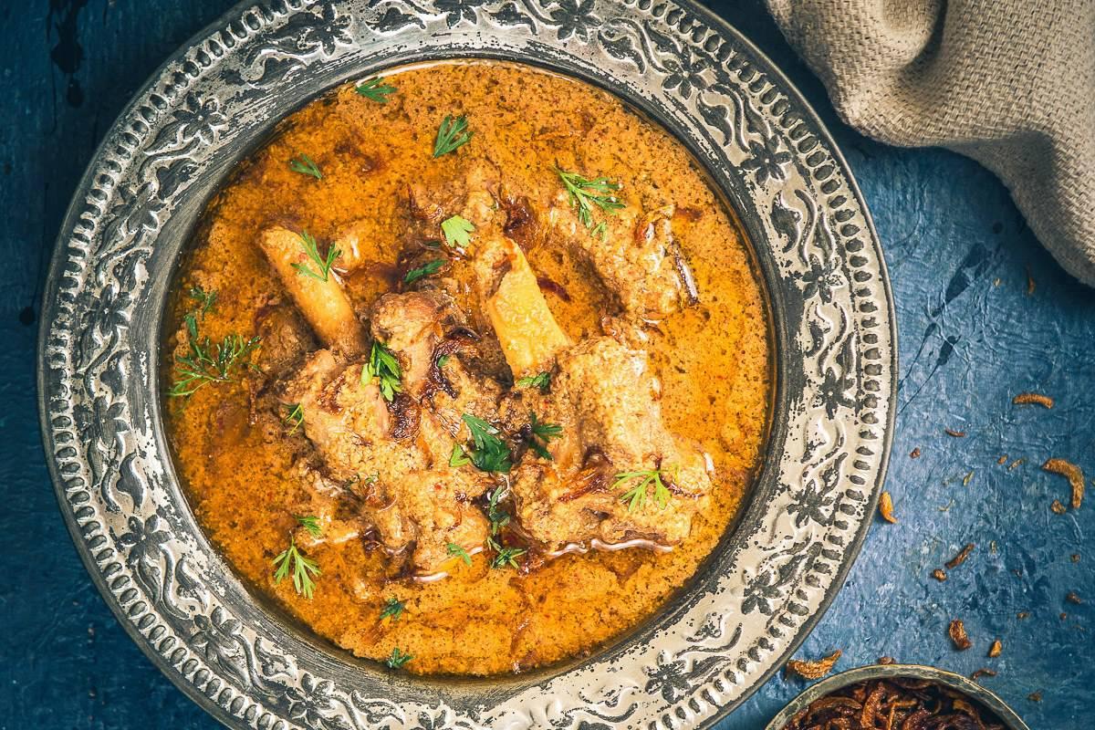Mughlai Mutton Stew Recipe (Step by Step) - Whiskaffair
