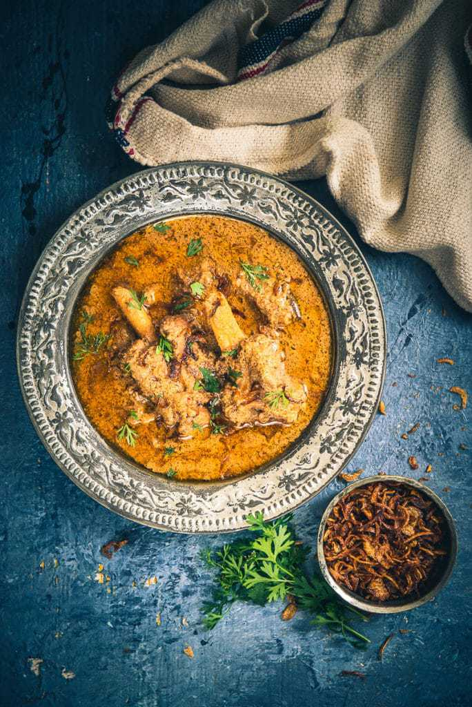 This Old Delhi Style Mughlai Mutton Stew recipe is a royal, delicious assemblage of fine flavours brewed with mutton and spices.