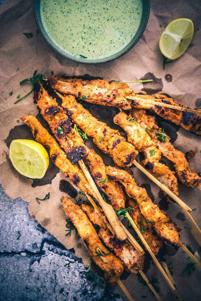 Chicken Peri Peri Skewers is probably the best grilled delicacy that I have tasted in the recent times. It is crisp, pungent and scrumptious!