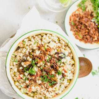 Vegetable Barley Pilaf, Barley Pilaf Recipe