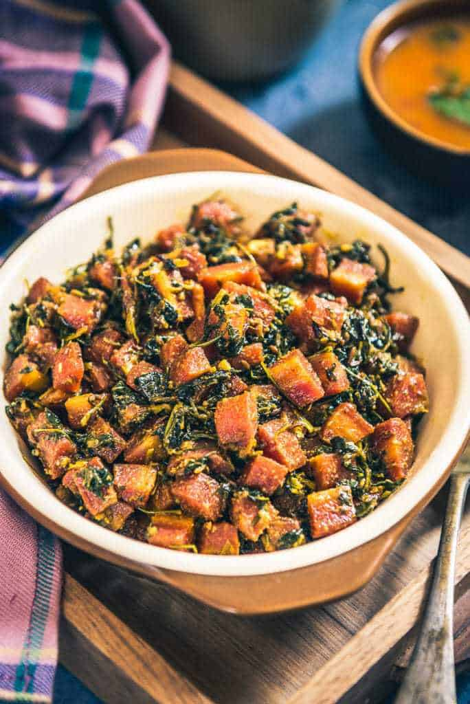 Gajar Methi Recipe is a super wholesome sabzi which imbibes the best of the nutrients derived from the mix of carrots, fenugreek and spices.