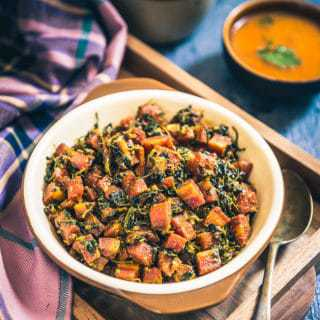 Gajar Methi is a super wholesome sabzi cum accompaniment which imbibes the best of the nutrients derived from the mix of carrots, fenugreek and spices.