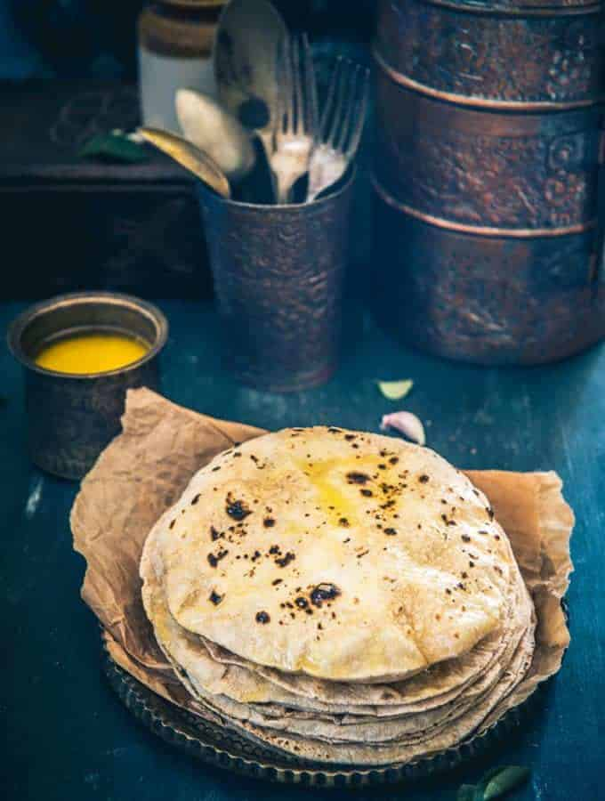 Here are a few tips and tricks on how to make perfect Multigrain Roti at home. Pair the roti or Chapati with any Indian curry or Dal.