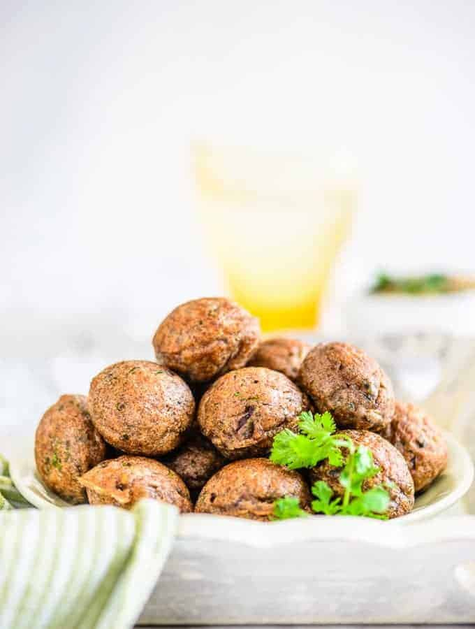 Instant Ragi Paniyaram is a healthier take on the traditional Paniyaram where Ragi Floyr is added to the batter. It's perfect to serve for breakfast.