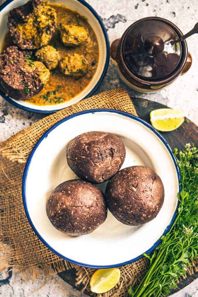 Ragi Mudde Recipe, Ragi Ball Recipe is a very healthy staple from Karnataka and Rayalaseema Region of Andhra Pradesh and is made using Ragi flour.