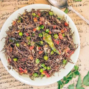 Ragi Vermicelli is a welcomed surprise that combines the goodness of ragi and soul soothing flavours all in just one bite!