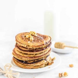 Ragi Banana Pancakes is the best combination of cereals, fruits and some of the most enriching ingredients that make you feel super wholesome and vitalized! Here is how to make these.