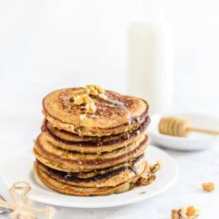 Ragi Banana Pancakes is the best combination of cereals, fruits and some of the most enriching ingredients that make you feel super wholesome and vitalized!