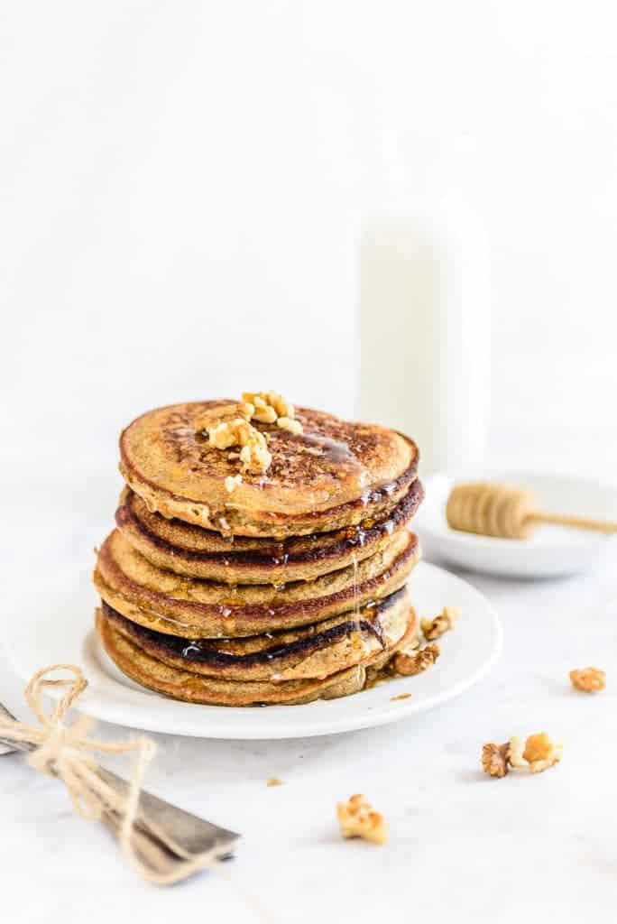 Ragi Banana Pancakes Recipe, How to make Ragi Banana Pancakes