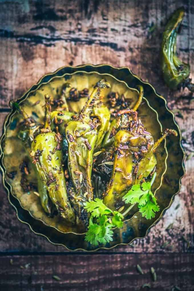 Saunfia Mirchi Recipe, How to make Saunfia Mirchi