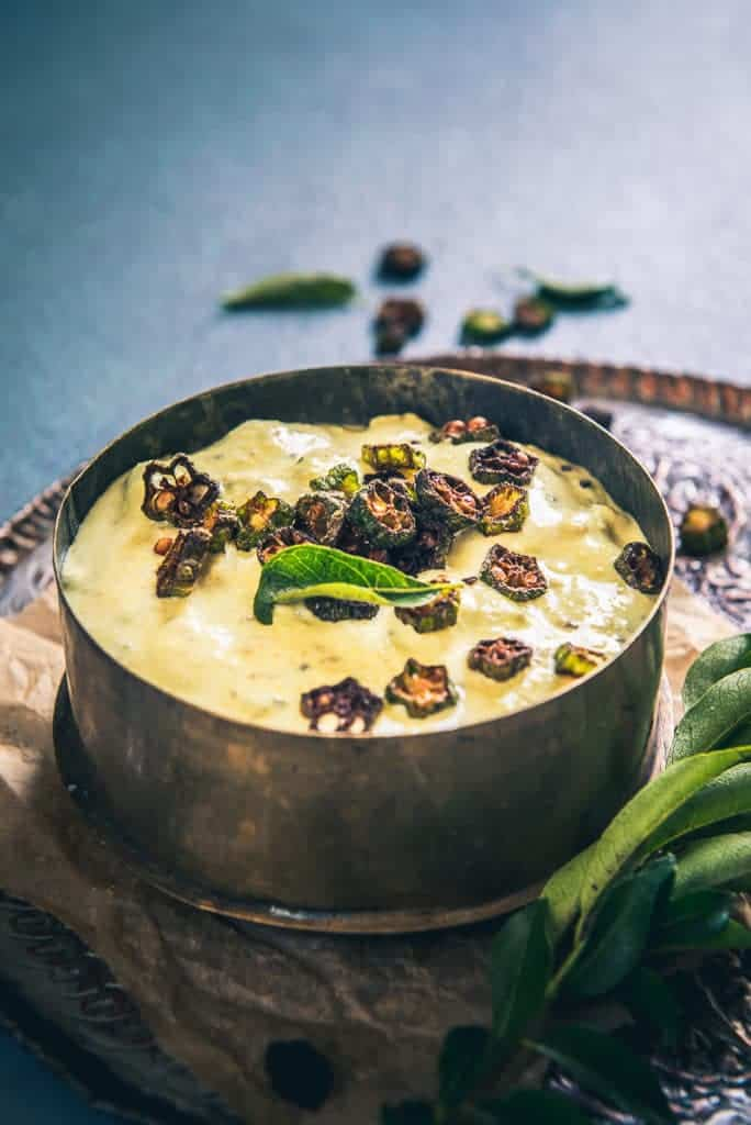 Vendakkai Pachadi Recipe, How to make Vendakkai Pachadi