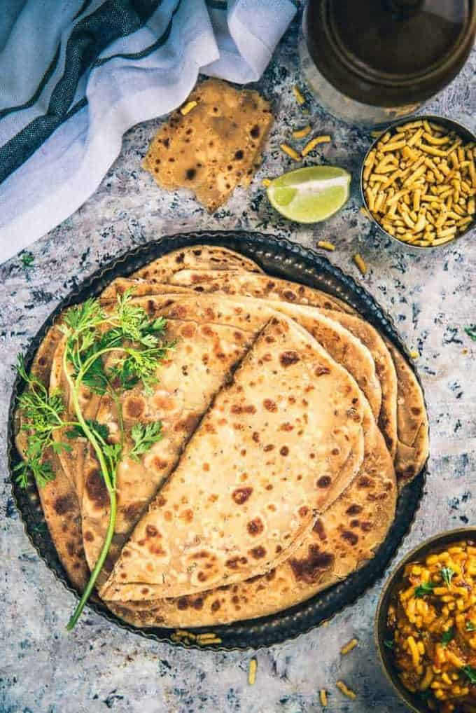Addition of Ajwain in your regular paratha takes it a notch higher taste wise and also health wise. Use this Ajwain Paratha Recipe for breakfast or meals.
