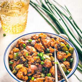 A delicious and a different take on manchurian, Dry Gobhi Manchurian combines the goodness of cauliflower and sizzling sauces as a wonderful appetizer!