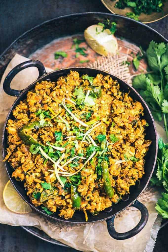 Karahi Chicken Keema Recipe, How to make Karahi Chicken Keema