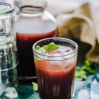 Kokum sharbat or kokum juice is a popular Goan summer coolant drink which is perfect to sip on warm summer days a sit is very refreshing.