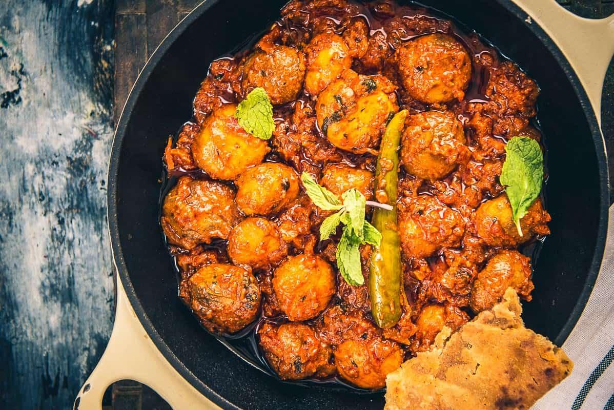Restaurant Style Mushroom Tikka Masala recipe, How to make ...