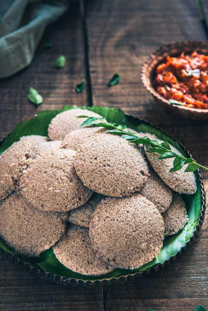 Ragi Idli Recipe, How to make Ragi Idli