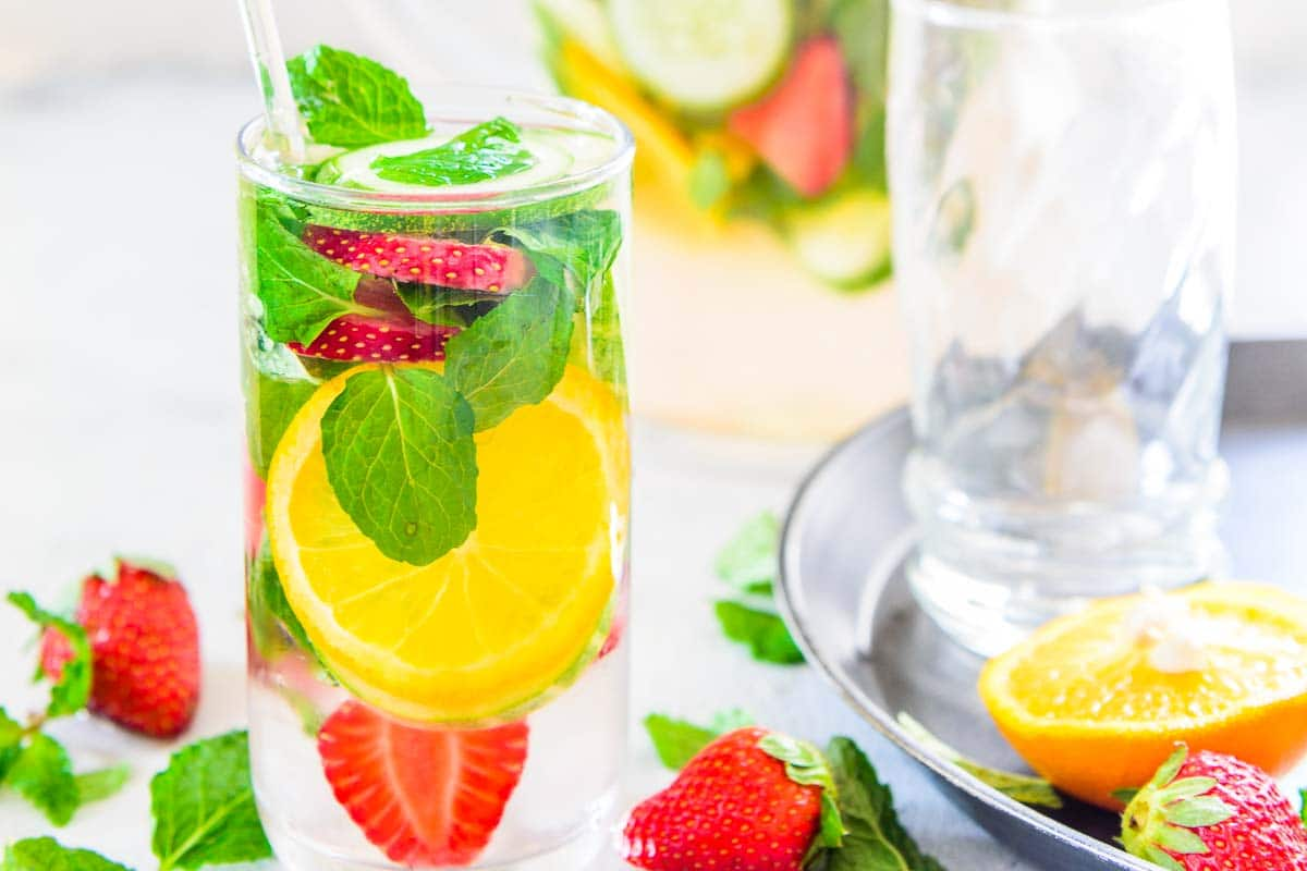 how to make detox water at home