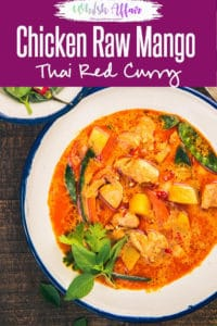 All the fans of mangoes and non-vegetarian dishes, Thai Raw Mango Chicken Curry is a must try for you all. Now, go ahead and pen down the easy recipe! #Asian #Thai #Chicken