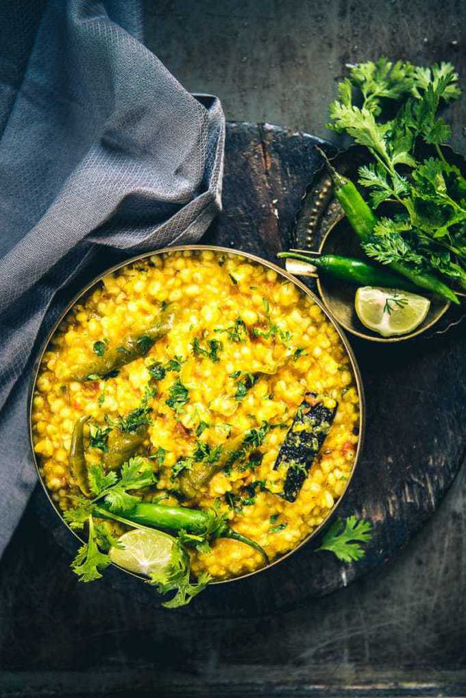 Jau Moong Dal Khichdi Recipe, How to make Jau Moong Dal Khichdi