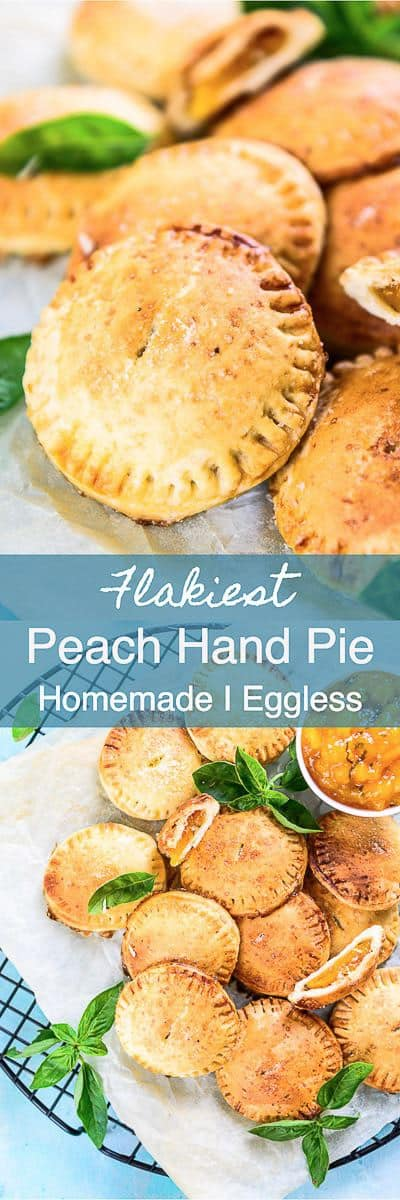 Basil Peach Basil Hand Pie Recipe is a delicious, easy to make dessert with the flakiest crust and soft gooey filling. Here is a simple recipe to make it. Baking I Dessert I Pie I Easy I homemade I Quick I Best I Flaky I Perfect I Peach I Summer I Fruit I basil I