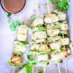 Here is how to make Easy Saunfia Paneer Tikka Recipe, a delicious easy to make Indian snack or appetizer flavoured with fennel seeds.