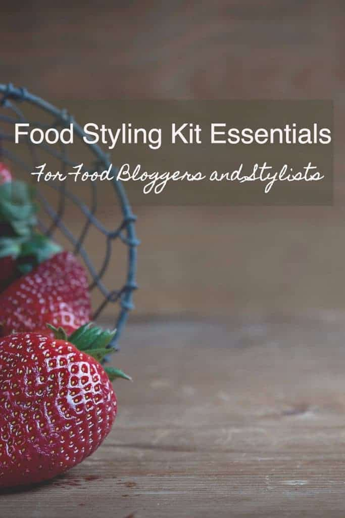 Food Styling Kit Essentials