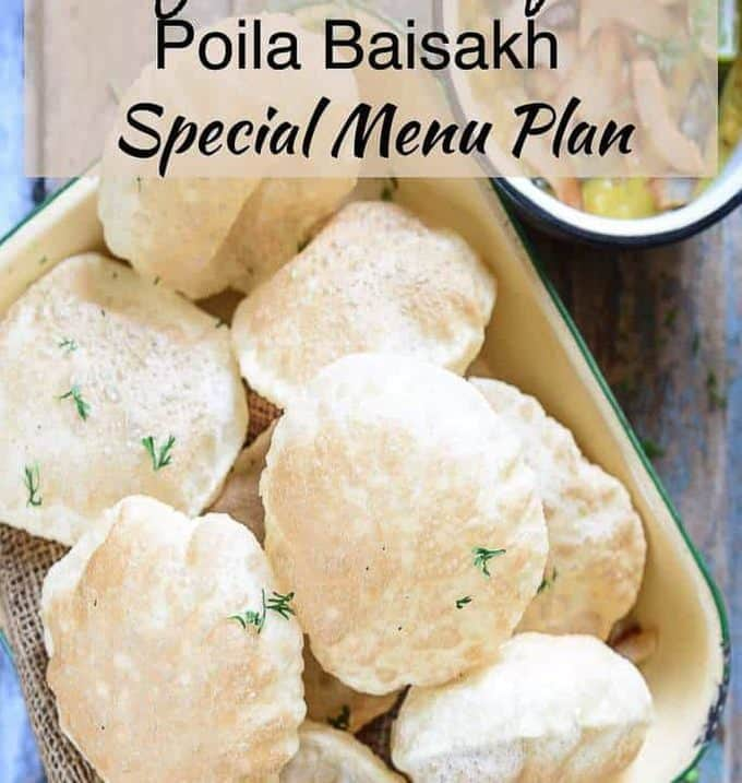 Poila Baisakh is the traditional New Year day of Bengali people and the festival is celebrated with processions, fairs, family time, and food!