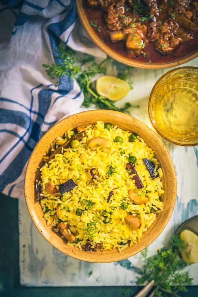 Bengali Mishti Pulao I Bengali Sweet Pulao