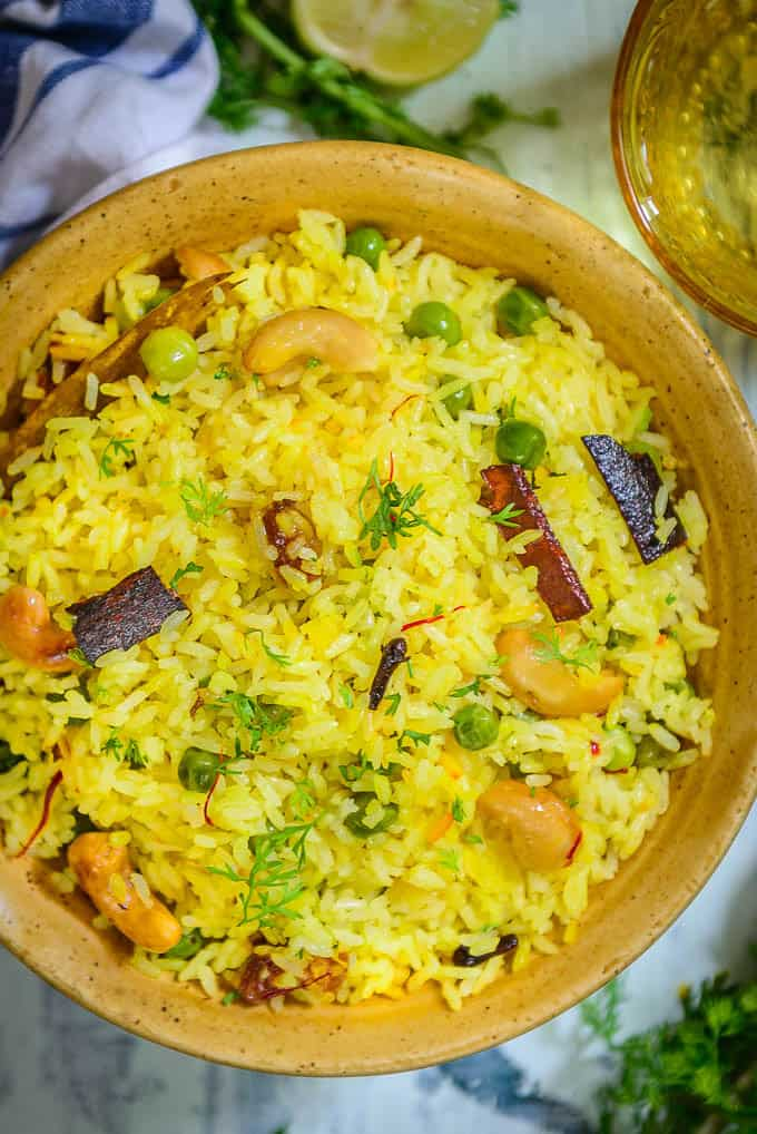 how to make sweet pulao