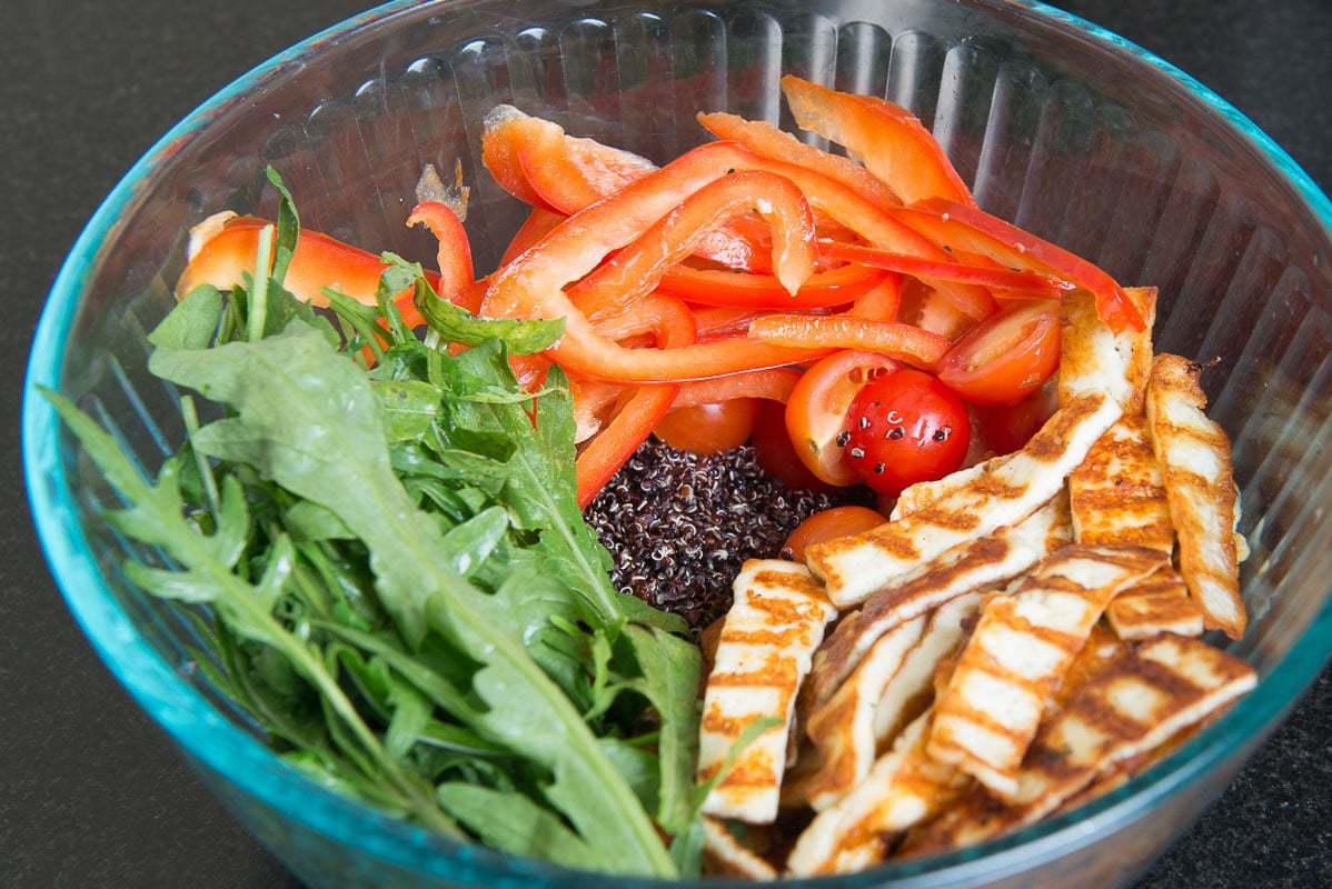 Grilled Paneer Quinoa Salad, Paneer Salad, quinoa recipes tarla dalal, quinoa salad by sanjeev kapoor, grilled paneer quinoa salad recipe, quinoa recipes, spiced paneer quinoa salad