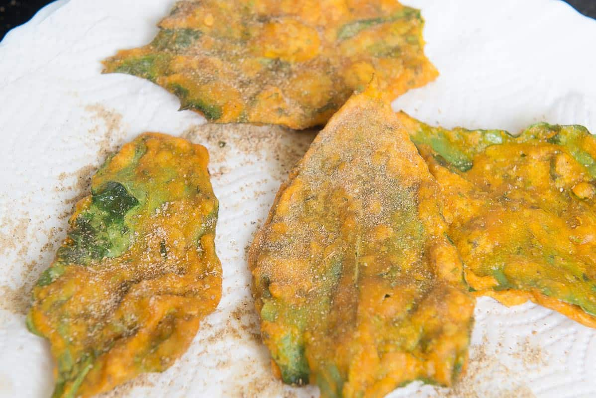 Step By Step Palak Pakora Recipe I Palak Pakoda Recipe