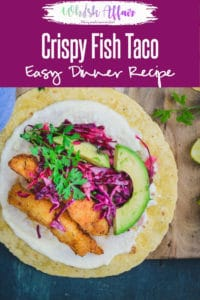 Step by Step Crispy Fish Tacos with Cabbage Slaw I Fish Tacos Recipe is an appetizing snack which you can munch any time of the day. It's filling yet light and the flavours and texture is a perfect balance of all things right. Fish I Taco I Mexican I Food I recipe I Photography I styling I Easy I simple I best I quick I step By step i perfect I Authentic I traditional #FishTacos #FishRecipes #MexicanRecipes