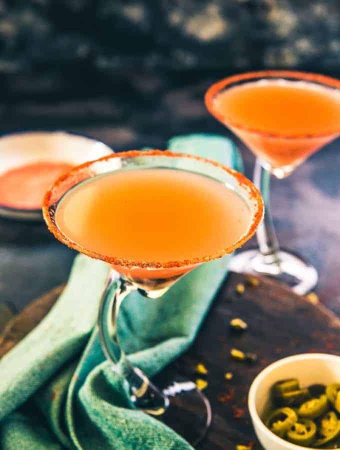Virgin Guava Jalapeno Margarita, Guava Mocktail recipe, summer cooler recipe, summer drink recipe, Guava recipe, Party drink recipe