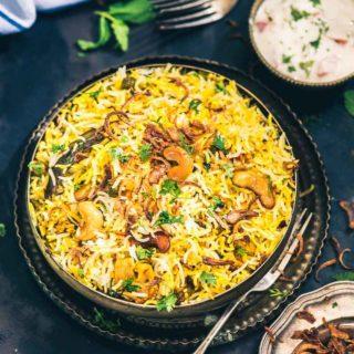 Hyderabadi Vegetable Dum Biryani, restaurant style veg dum biryani recipe, how to make veg biryani at home, veg biryani recipe step by step, easy veg biryan