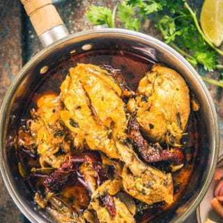 Bengali Doi Murgi Recipe, Bengali Chicken Curry Recipe with Curd, doi murgi bong mom, dahi chicken gravy recipe