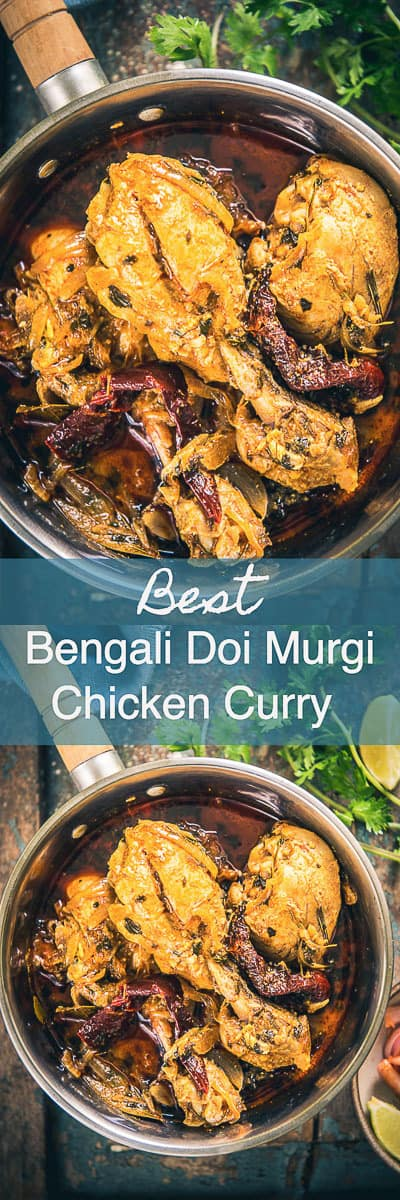 Step By Step Bengali Doi Murgi Recipe or Bengali Chicken Curry Recipe with Curd. This is a delicious chicken curry where chicken is cooked in yogurt sauce. Indian I bengali I chicken I curry I Easy I simple I best I quick I perfect I Authentic I traditional I Homemade I food I Photography I Styling I Recipe #IndianRecipes #ChickenRecipes #ChickenCurry
