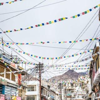 Flying from Delhi to Leh Ladakh