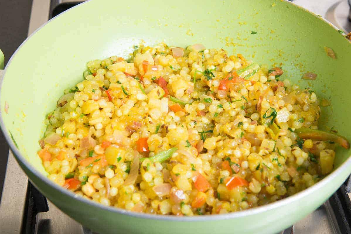 Sabudana Cake Recipe In Marathi: Sabudana Khichdi Recipe (Step By Step)