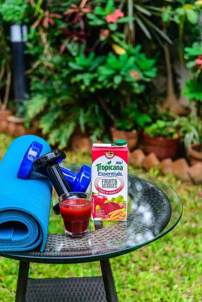 Tropicana Essentials Fills Your Nutrition Gap by providing you with the goodness of both fruits and vegetables and it is delicious too.