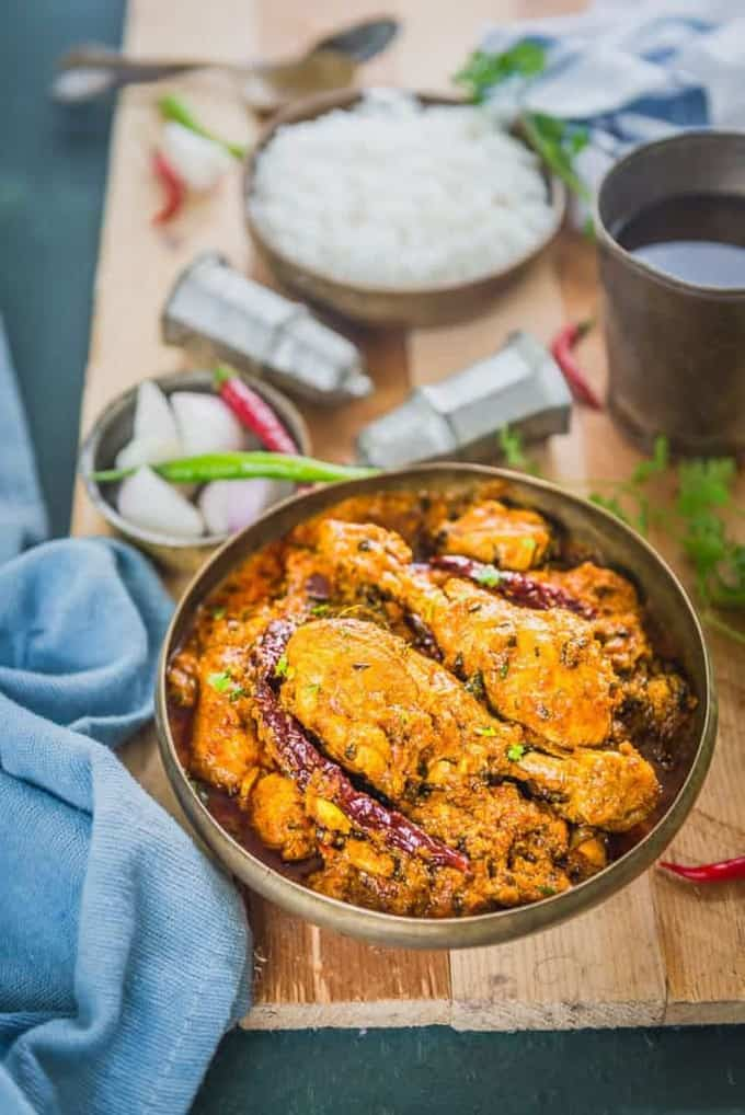 Dhaba Style Chicken Curry Recipe – Indian Chicken Recipes