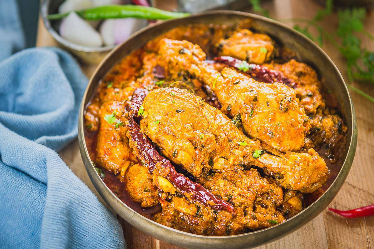 Punjabi Dhaba Style Chicken Curry Recipe Step By Step