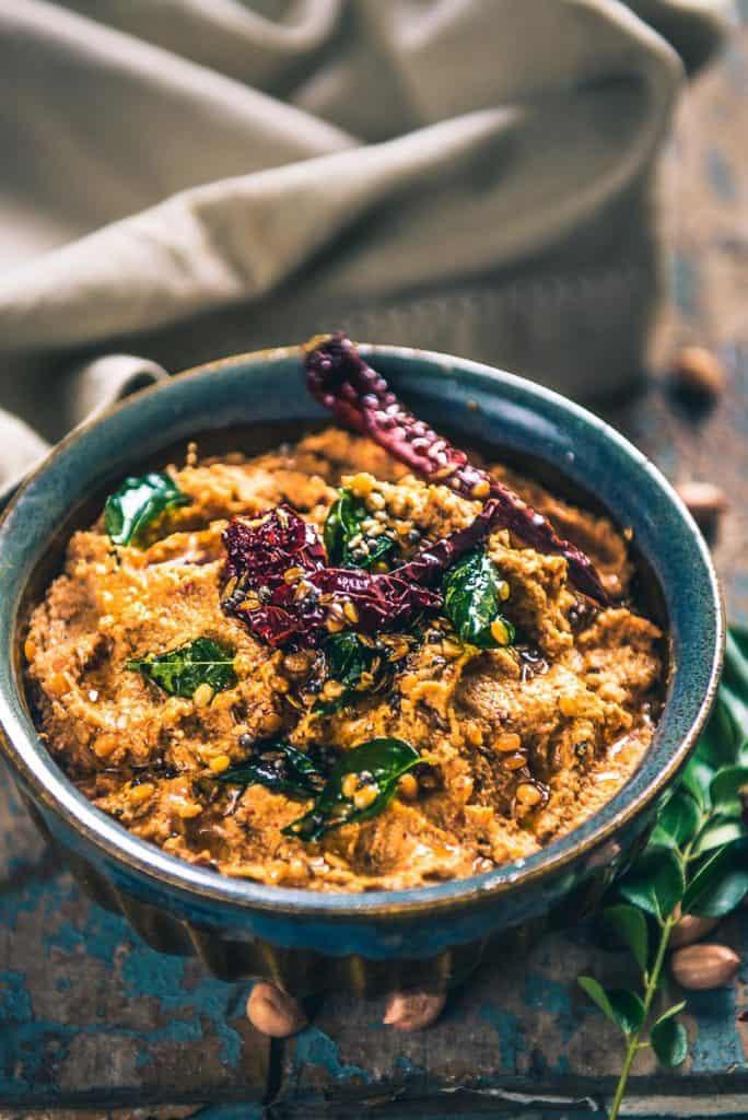 Peanut Chutney Recipe I Andhra Style Peanut Chutney I Palli Chutney