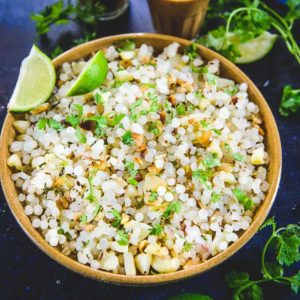 Spicy Sabudana Khichdi is a slightly different version of the traditional no onion sabudana khichdi which can be had for breakfast or evening snacks any day.