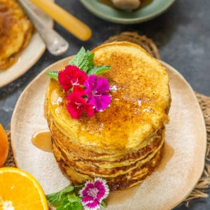 A delicious and easy to make breakfast, Orange Pancakes which will be loved by your family members. Here is how to make it.